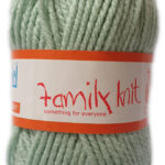 FAMILY KNIT CHUNKY 50g-COL.359 SOFT TURQUOISE 3