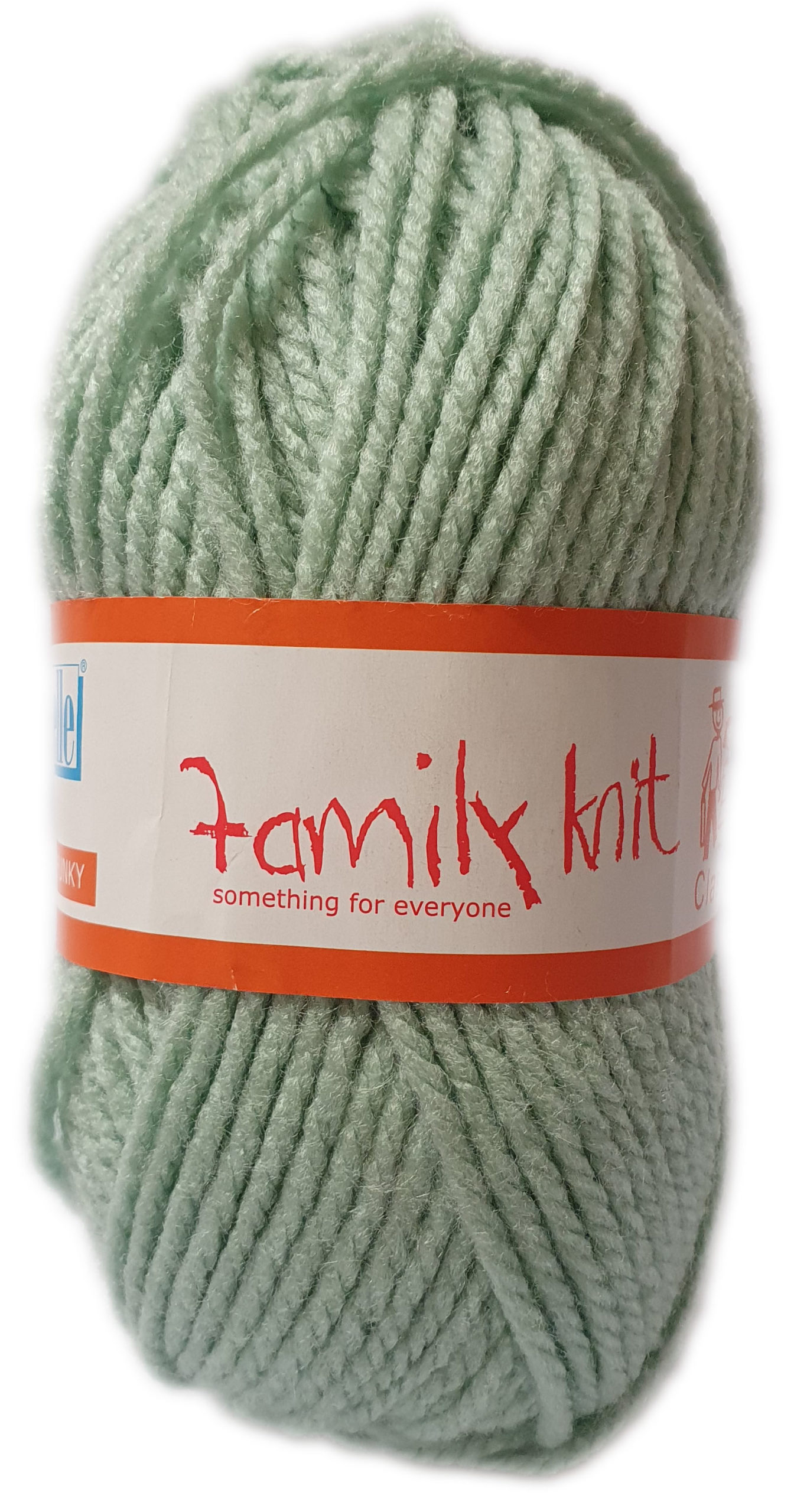 FAMILY KNIT CHUNKY 50g-COL.074 SNOWMOON 1