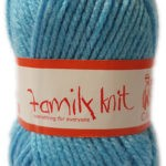 FAMILY KNIT CHUNKY 50g-COL.074 SNOWMOON 2