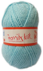 FAMILY KNIT CHUNKY 50g-COL.427 AQUARINE 4