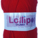 LOLLIPOP CHUNKY 100g-COL.40 PALE PINK 3