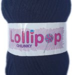 LOLLIPOP CHUNKY 100g-COL.29 NAVY BLUE 2