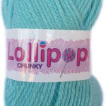 LOLLIPOP CHUNKY 100g-COL.43 BUBBLEGUM 2