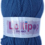 LOLLIPOP CHUNKY 100g-COL.02 BRIGHT PINK 2