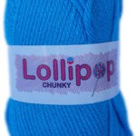 LOLLIPOP CHUNKY 100g-COL.02 BRIGHT PINK 3