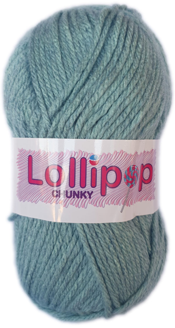 LOLLIPOP CHUNKY 100g-COL.43 BUBBLEGUM 1