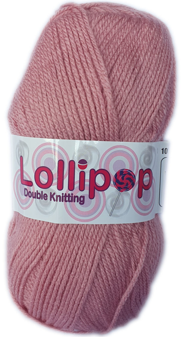 LOLLIPOP D.K 100g-COL.04 DUSTY PINK 1
