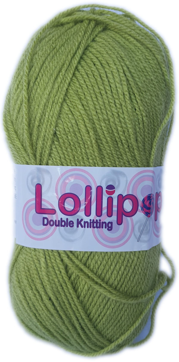 LOLLIPOP D.K 100g-COL.09 AVO GREEN 1