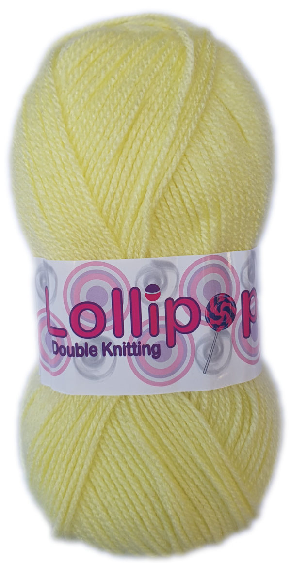 LOLLIPOP D.K 100g-COL.11 LIGHT YELLOW 1