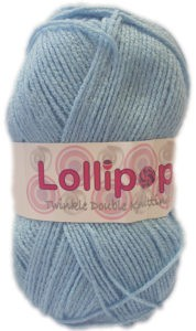 LOLLIPOP D.K TWINKLE 100g-COL.26 LIGHT BLUE 4