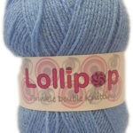 LOLLIPOP D.K TWINKLE 100g-COL.26 LIGHT BLUE 3