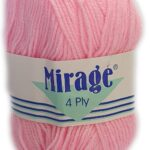 MIRAGE 4 PLY 25g-COL.051 SCHOOL GREY 2