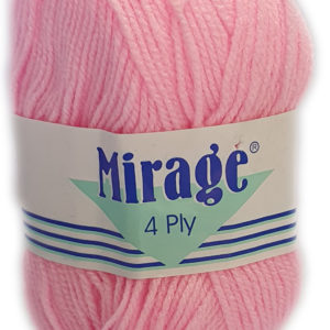 MIRAGE 4 PLY 25g-COL.004 BRIGHT PINK 5