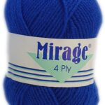 MIRAGE 4 PLY 25g-COL.018 MAROON 3