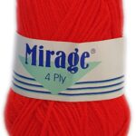 MIRAGE 4 PLY 25g-COL.081 LIME DROP 2