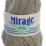 MIRAGE 4 PLY 25g-COL.001 WHITE 3