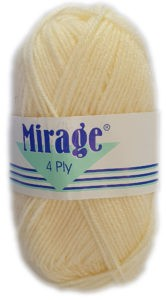 MIRAGE 4 PLY 25g-COL.014 PARCHMENT 4