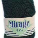 MIRAGE 4 PLY 25g-COL.018 MAROON 2