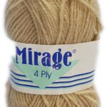 MIRAGE 4 PLY 25g-COL.014 PARCHMENT 2