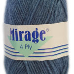 MIRAGE 4 PLY 25g-COL.024 BOTTLE GREEN 4