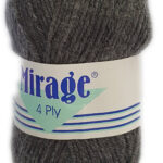 MIRAGE 4 PLY 25g-COL.004 BRIGHT PINK 3