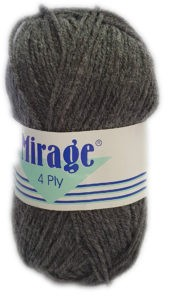MIRAGE 4 PLY 25g-COL.051 SCHOOL GREY 4