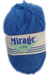 MIRAGE 4 PLY 25g-COL.058 SAXE BLUE 4