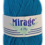 MIRAGE 4 PLY 25g-COL.009 RED 2