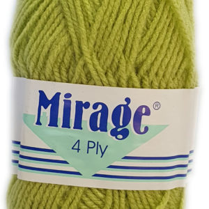 MIRAGE 4 PLY 25g-061 SOFT LIME 1