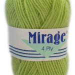 MIRAGE 4 PLY 25g-COL.009 RED 3