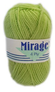 MIRAGE 4 PLY 25g-COL.081 LIME DROP 4