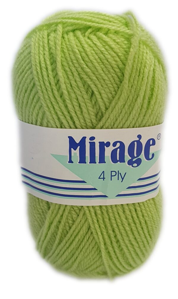 MIRAGE 4 PLY 25g-COL.081 LIME DROP 1