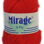 MIRAGE 4 PLY 25g-COL.022 EMERALD GREEN 3