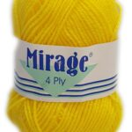 MIRAGE 4 PLY 25g-COL.051 SCHOOL GREY 3