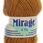 MIRAGE 4 PLY 25g-COL.004 BRIGHT PINK 2