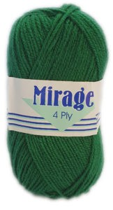 MIRAGE 4 PLY 25g-COL.156 FORREST 4