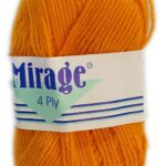 MIRAGE 4 PLY 25g-061 SOFT LIME 2