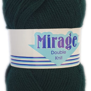 MIRAGE PULLSKEIN D.K 100g-COL.024 BOTTLE GREEN 13