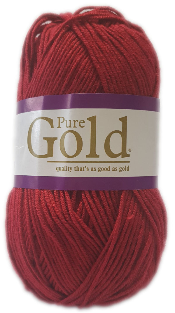 PURE GOLD D.K 100g-COL.001 RUBY 1