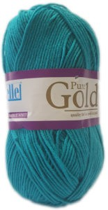 PURE GOLD D.K 100g-COL.007 TEAL 4