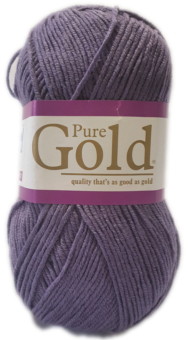 PURE GOLD D.K 100g-COL.101 GRAPE 1