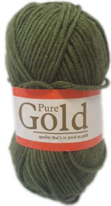 PURE GOLD CHUNKY 100g-COL.061 MILITARY 4