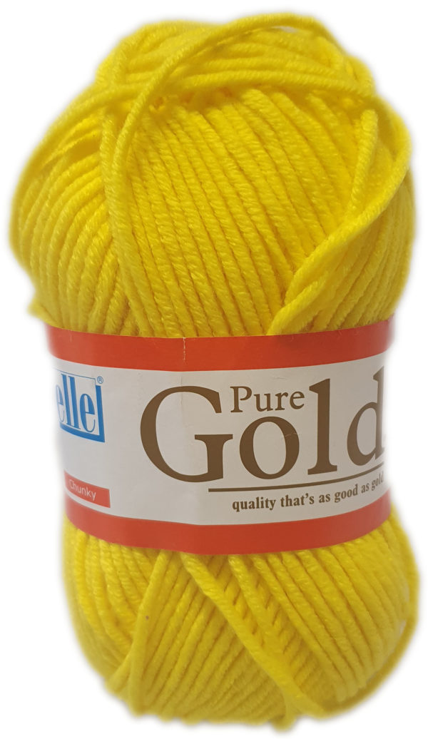 PURE GOLD CHUNKY 100g-COL.138 MARIGOLD 1