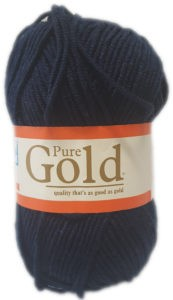 PURE GOLD CHUNKY 100g-COL.209 NAVY 4