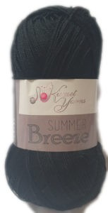 SUMMER BREEZE 100g-COL.670 BLACK 4