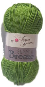 SUMMER BREEZE 100g-COL.674 OLIVE GREEN 4