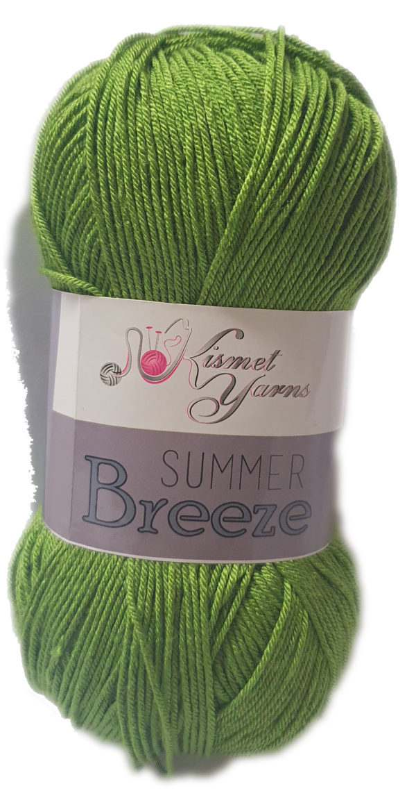 SUMMER BREEZE 100g-COL.674 OLIVE GREEN 1
