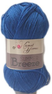 SUMMER BREEZE 100g-COL.681 BLUE 4