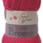 SUMMER BREEZE 100g-COL.693 RED 2