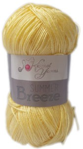 SUMMER BREEZE 100g-COL.689 PALE YELLOW 4